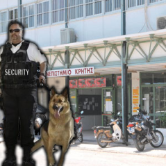 SECURITY PANEPISTIMIO KRITIS